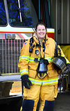 Career as Fire Woman