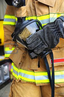 Fireman's mask
