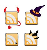 Orange Colored RSS Icon