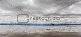 Laguna Llancanelo in Argentina