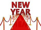 red carpet to new year