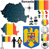Romania map