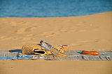 Beach still life