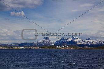 Town Bodo in Norway