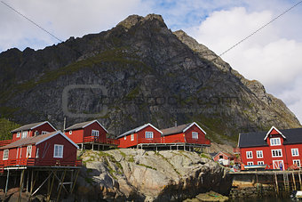Rorbu huts in Norway