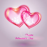 Valentine&#39;s day vector background