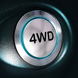 4WD Button, Four Weel Drive, 4x4 Switch