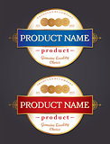 Label Design Template