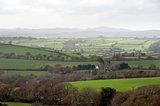 Misty Cornish landscape