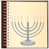 Menorah on the album