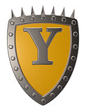 shield with letter y