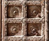 Old Door of a Mehrangarh Fort, Jodhpur, India
