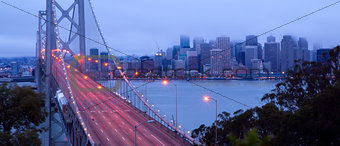Bay Bridge Morning