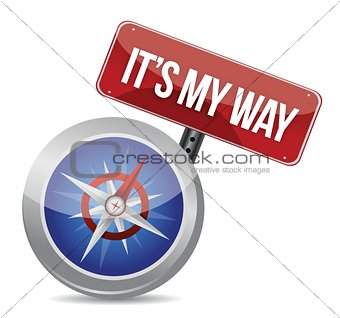 my way compass concept