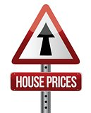 &#39;house prices rise&#39; sign