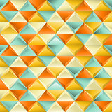 Abstract seamless patternwith triangles