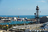 Spain / Barcelona / Harbor view