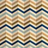 Zigzag pattern in retro colors,