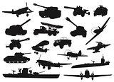 Military set
