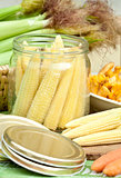 Preserving corn
