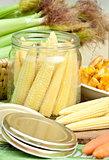 Preserving corn