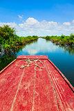 Traveling through Tonle Sap Lake