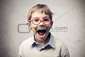 Enthusiastic Child