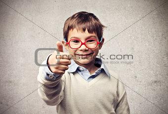Child Thumb Up