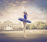 Ballerina on the Street