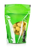 Olives in a vacuum pack