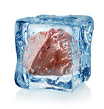 Ice cube and liver