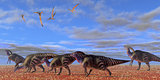 Parasaurolophus Desert