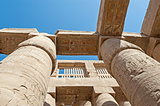 Columns at Karnak temple in Luxor