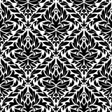 Damask vintage seamless pattern background