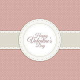 Retro valentines day background