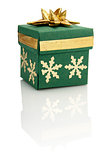 Gift Box With Gold Decoration