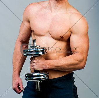 muscular man