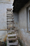 wooden broken ladder