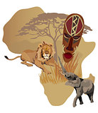 Symbols of Africa
