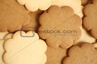 Cinnamon and milky cookies