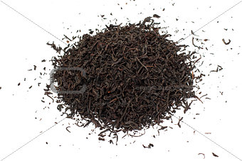 Black tea loose dried leaves