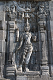  Boddhisattva image in Candi Sewu Buddhist complex, Java, Indone