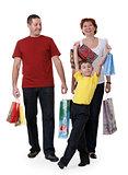 family for shopping