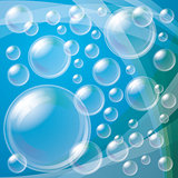 Transparent Bubbles Background