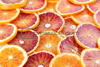 Blood orange background