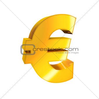 3d Gold Sign