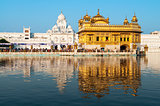 Daytime view of Golden Temple