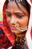 Young Traditional Indian woman