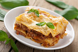 classic lasagna bolognese 