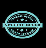 Oval Special Offer Stamp